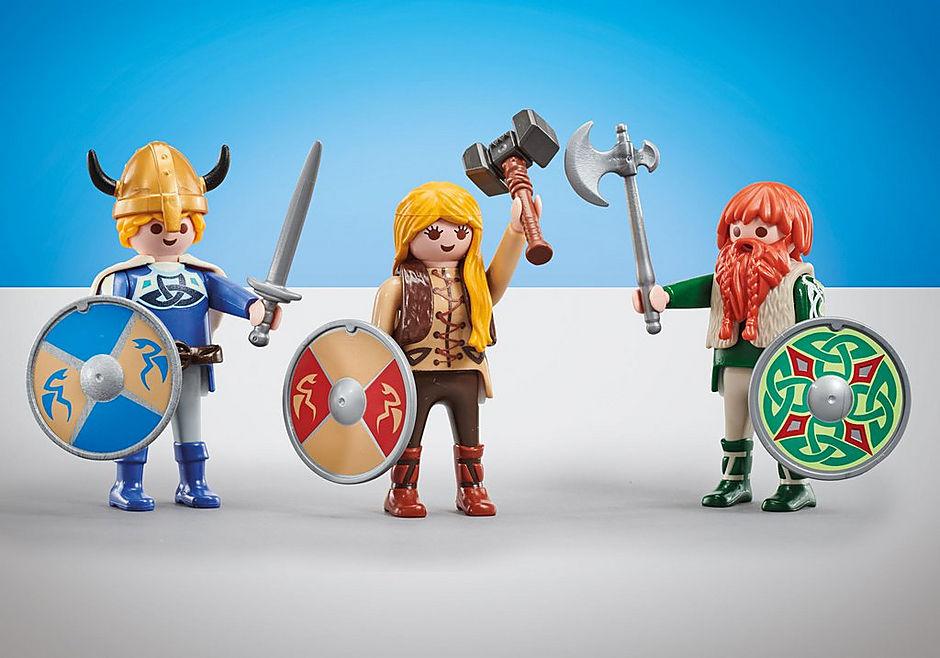 9893 Three Vikings detail image 1