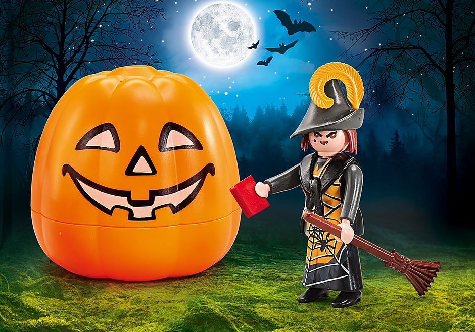 9894 Halloween set Witch detail image 1