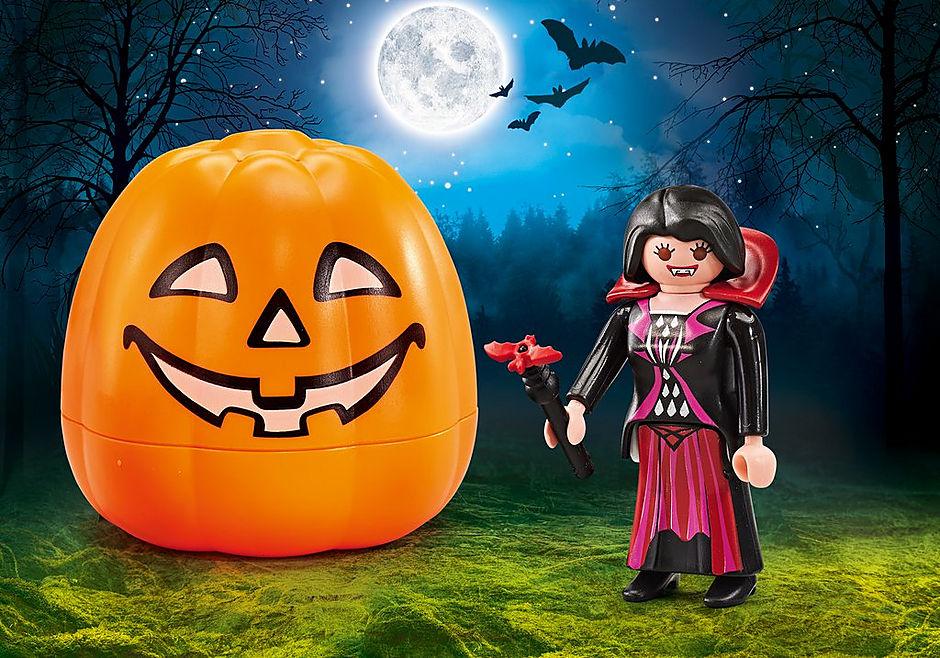 9895 Halloween Pumpkin - Vampire detail image 1