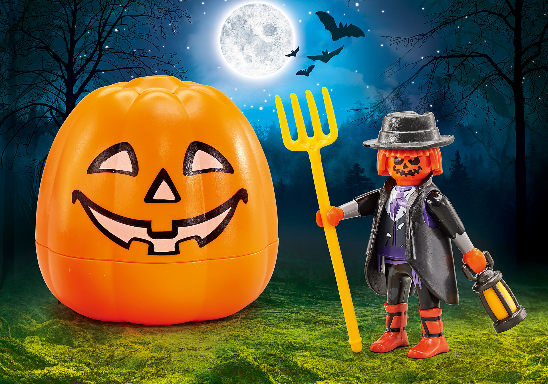 9897 Halloween Pumpkin - Jack o' Lantern zoom image1
