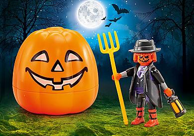 9897 Halloween set Pumpkin