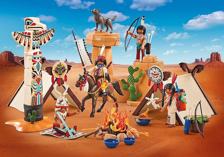 9899 Acampamento de índios detail image 1