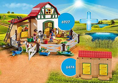 DE1806A Pack Promocional Granja de Ponis