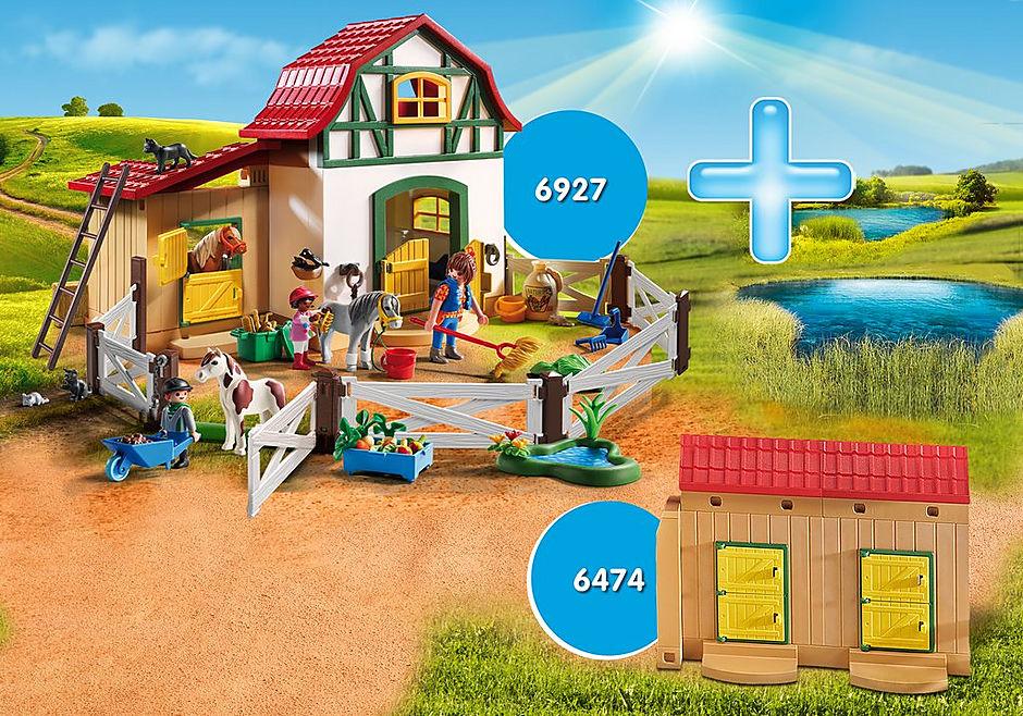 http://media.playmobil.com/i/playmobil/DE1806A_product_detail/Pony Farm Bundle