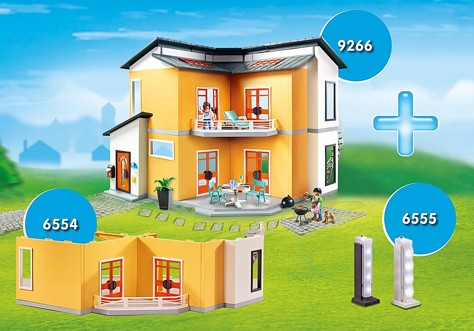 DE1812B Super Promo Bundle Villa moderna detail image 1