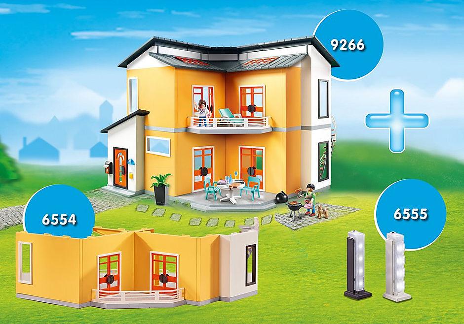 http://media.playmobil.com/i/playmobil/DE1812B_product_detail/Voordeelbundel Modern woonhuis