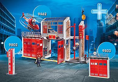 DE1812C Paquet Caserne de pompiers