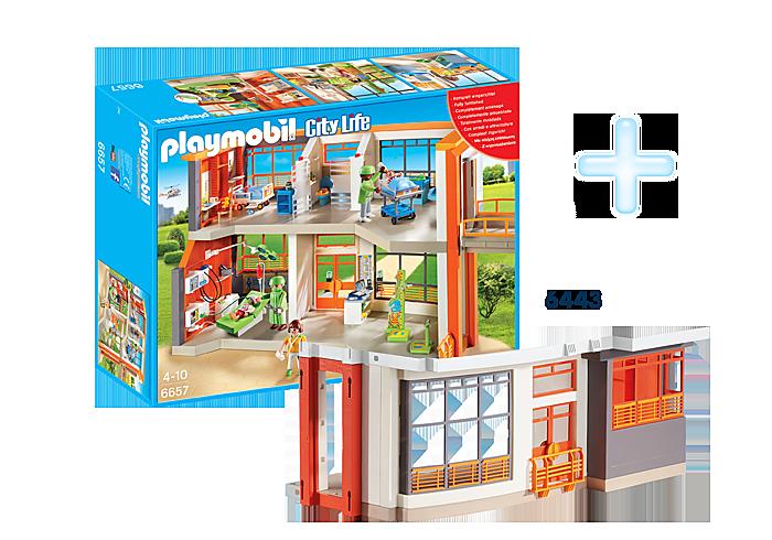 http://media.playmobil.com/i/playmobil/DE1812E_product_detail/Bundle Kinderklinik