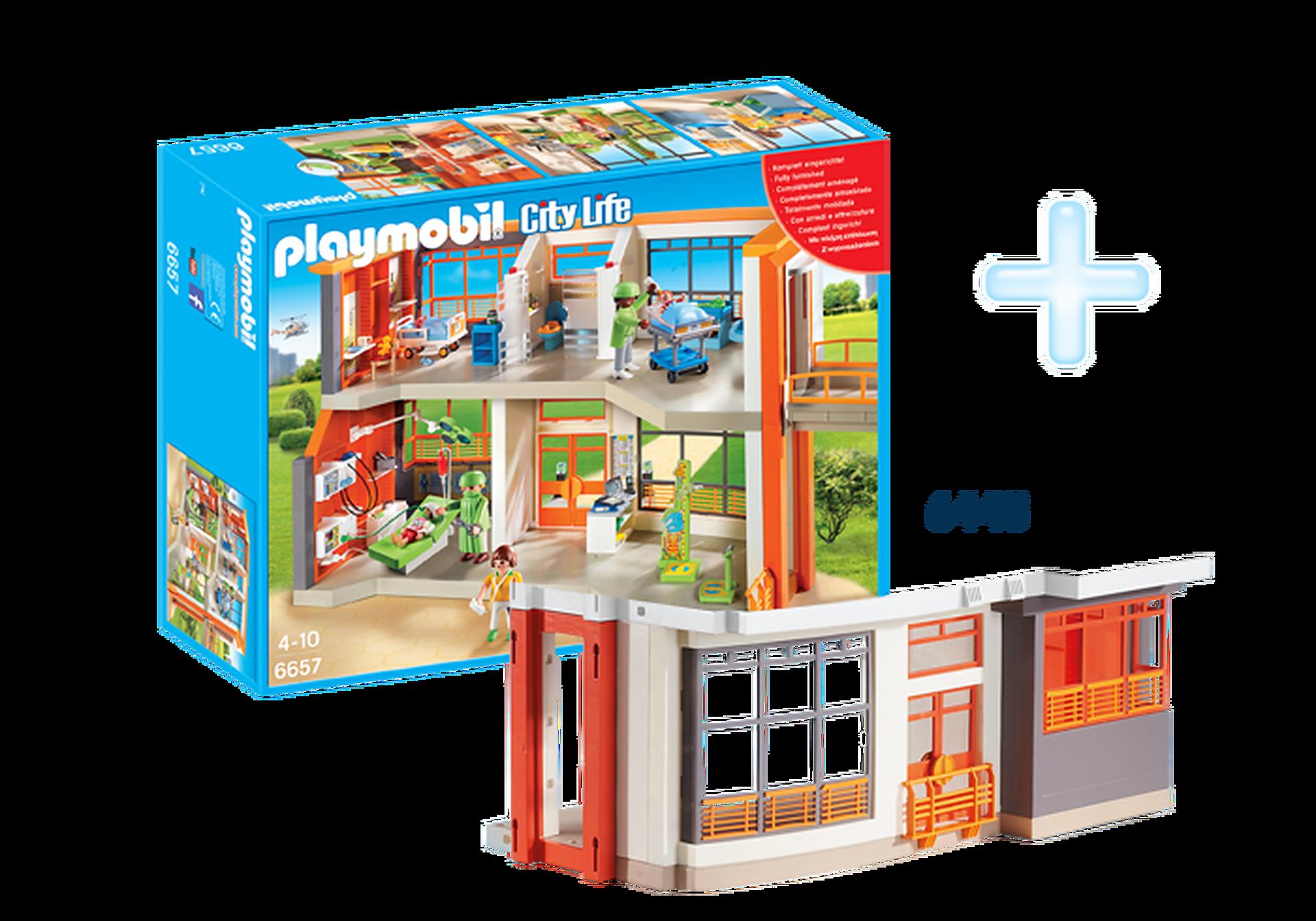 "http://media.playmobil.com/i/playmobil/DE1812E_product_detail/Pakiet ""Szpital dziecięcy"""