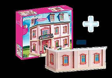 DE1812F_product_detail/5303 Maison traditionnelle +  6453 Etage supplémentaire pour maison traditionnelle
