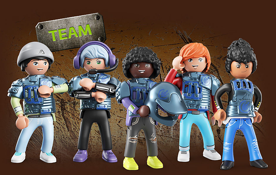 DINO RISE Team Dino Rise