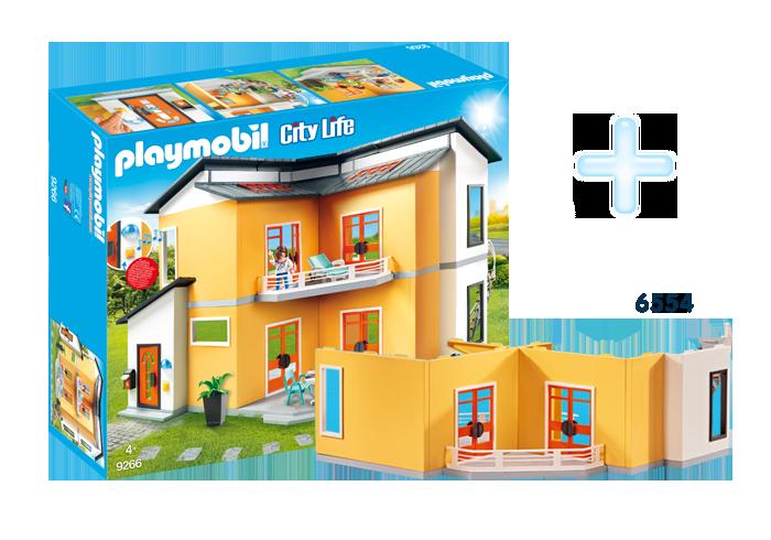 FR1811E_product_detail/9266 Maison moderne + 6554 Etage supplémentaire pour Maison moderne