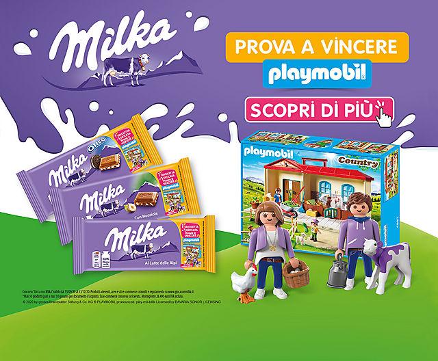 Milka x PLAYMOBIL