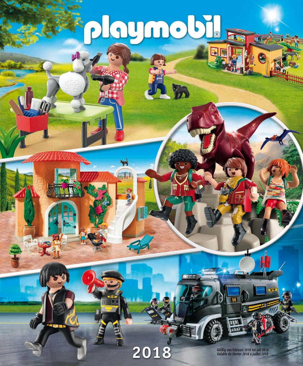 Playmobil Catalogus jan-juli 2018