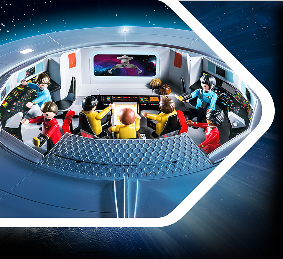 Image shows crew working in command center in one scene
