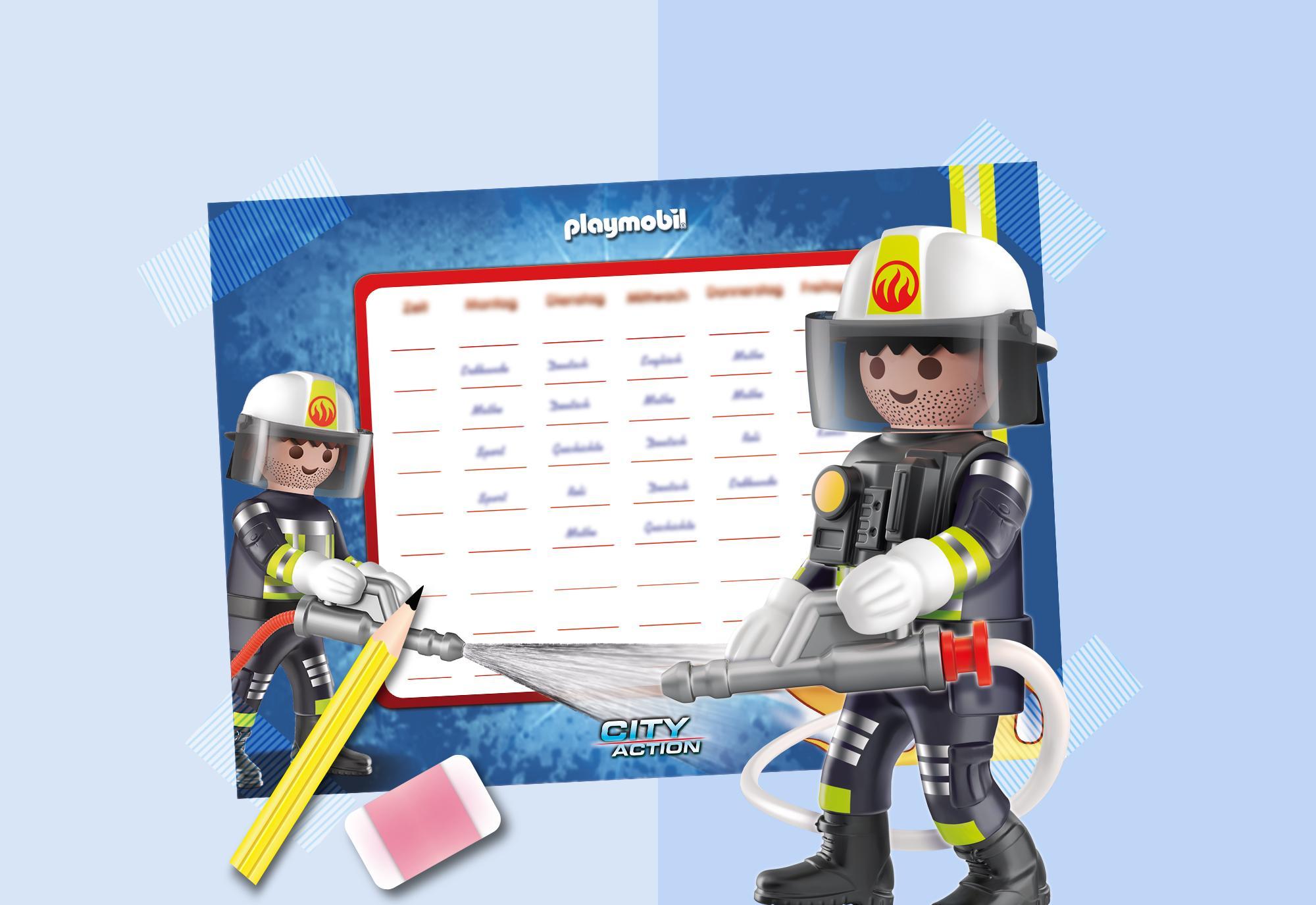 Stundenplan   PLAYMOBIL Feuerwehr PLAYMOBIL® Deutschland