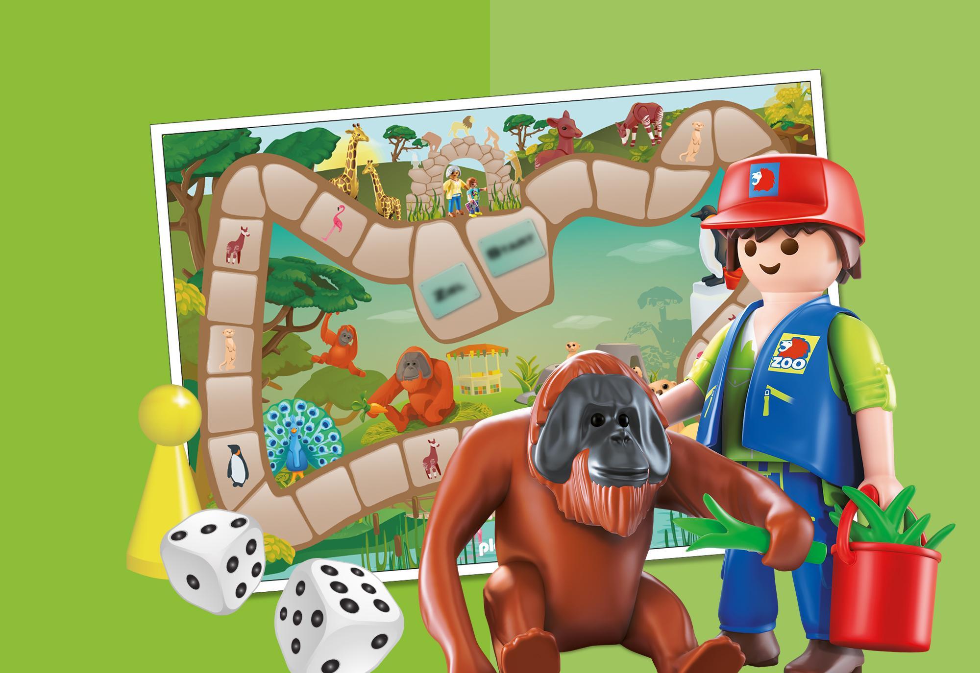 Juegos Para Imprimir Zoo Juego De Mesa Playmobil Mexico