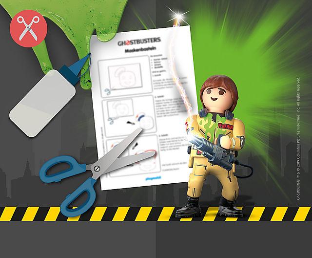 ausmalbilder playmobil ghostbusters  kinder ausmalbilder