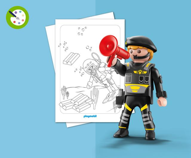 Großartig Brandmeister Von Playmobil Ausmalbilder Fotos - Framing ...