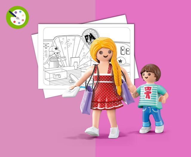 Kleider Model TaschenAccessoire playmobil® Fashion Shopping Zubehör