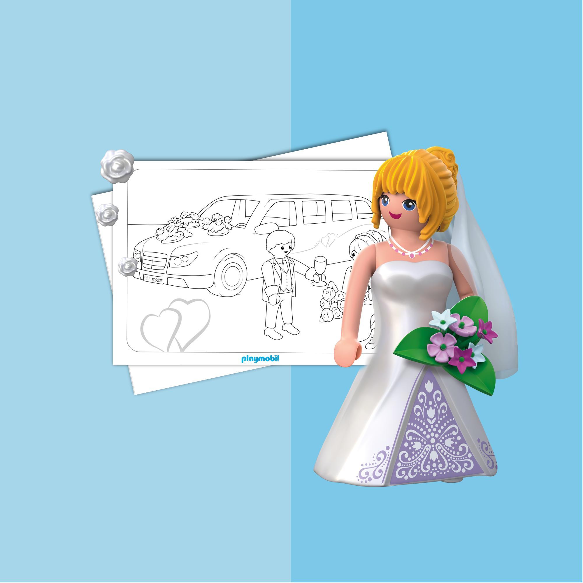 Kleurplaten Playmobil De Bruiloft Playmobil Belgie