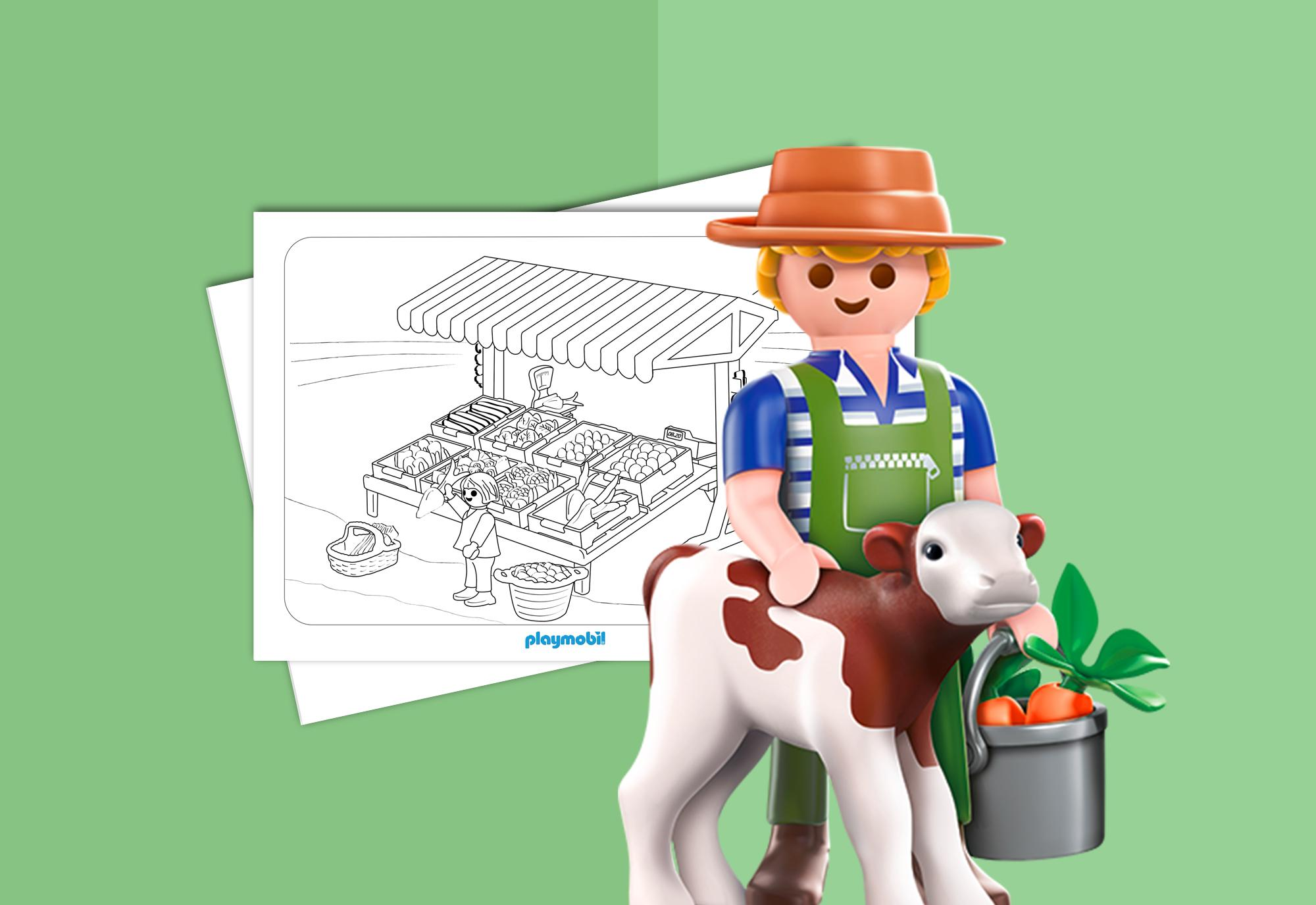 Playmobil Country Hojas Para Colorear Granja Playmobil Espana