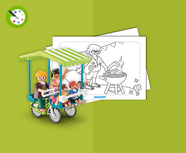 ausmalbilder playmobil camping  playmobil® deutschland