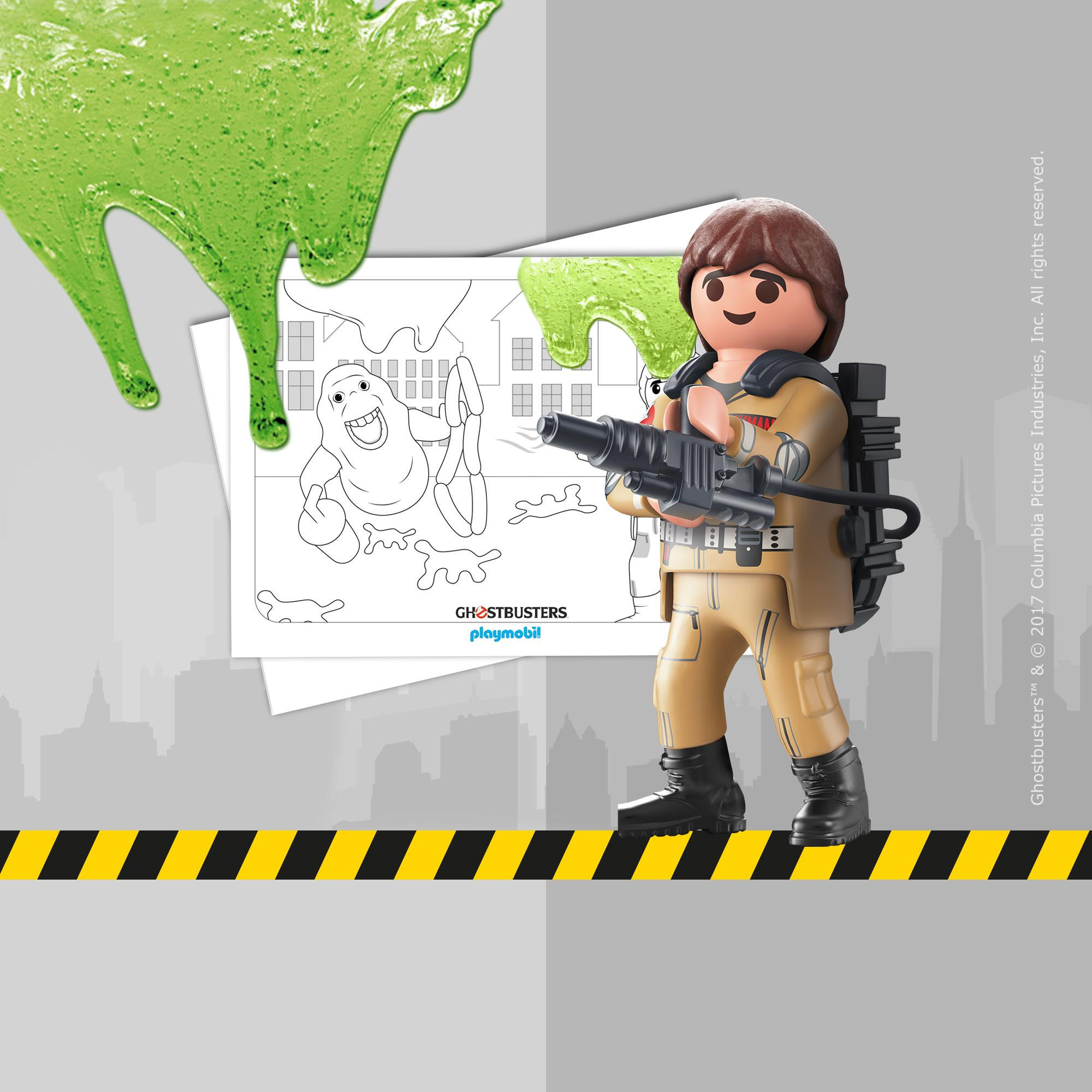Coloriage - PLAYMOBIL Ghostbusters PLAYMOBIL® France