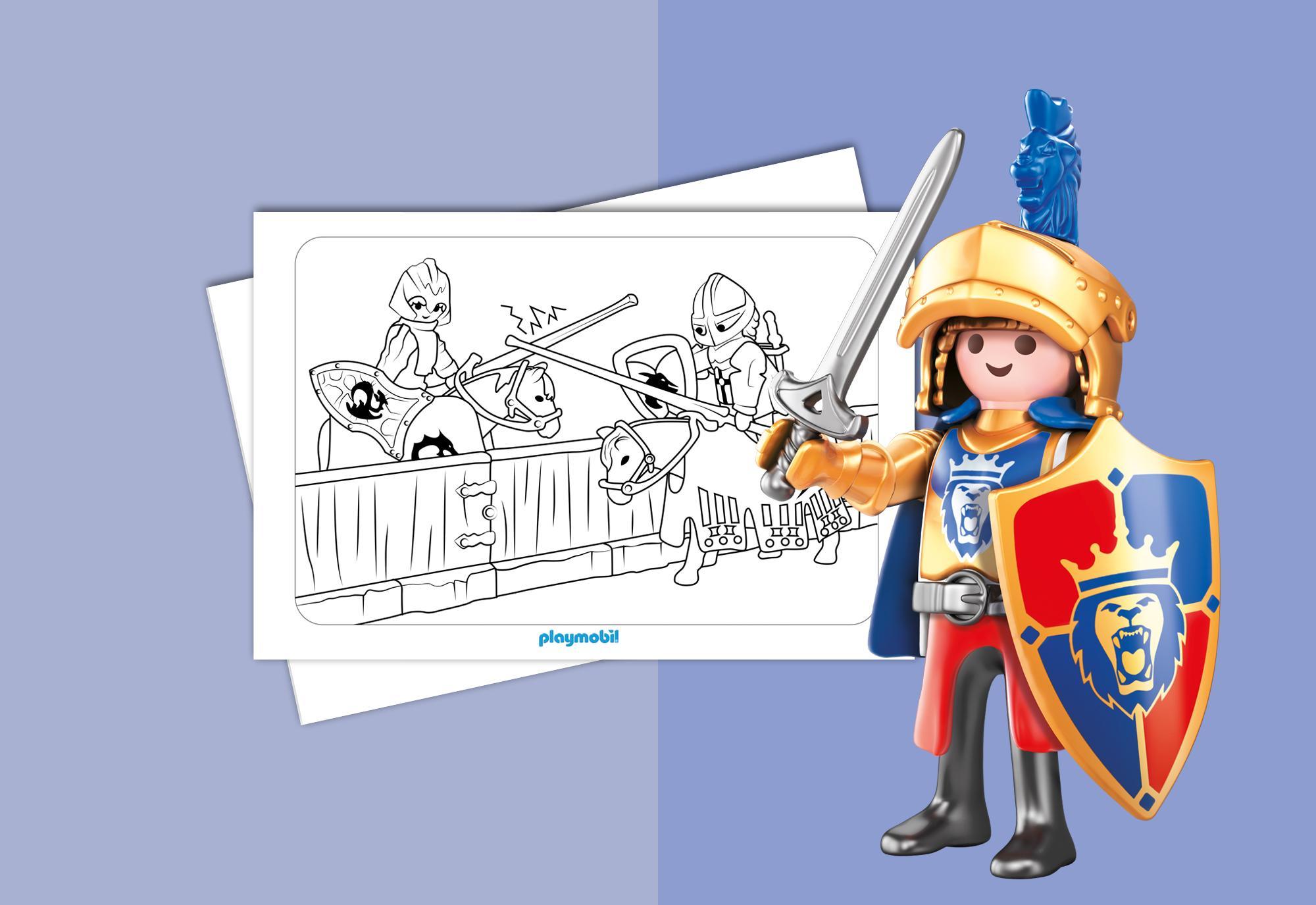 Kleurplaten Playmobil Knights Playmobil 174 Belgi 235
