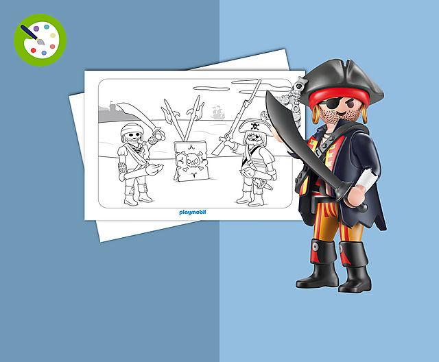 Playmobil united kingdom - Coloriage playmobil pirate ...