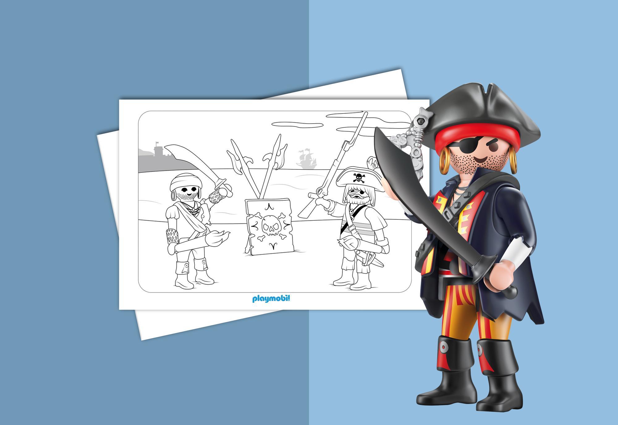 Coloriage playmobil pirates playmobil france - Coloriage playmobil pirate ...