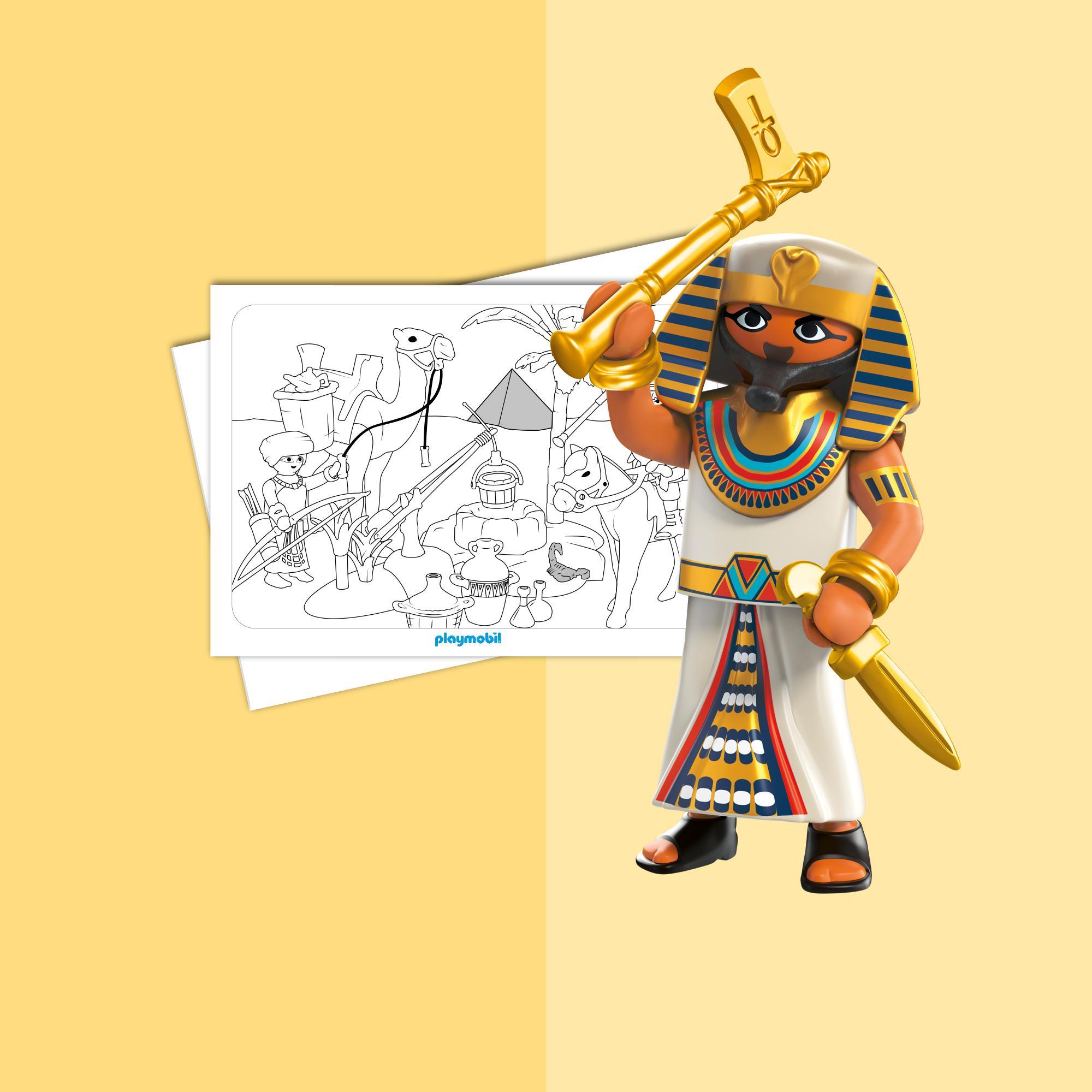 Coloriage Les Romains Et Les Egyptiens Playmobil 174 France