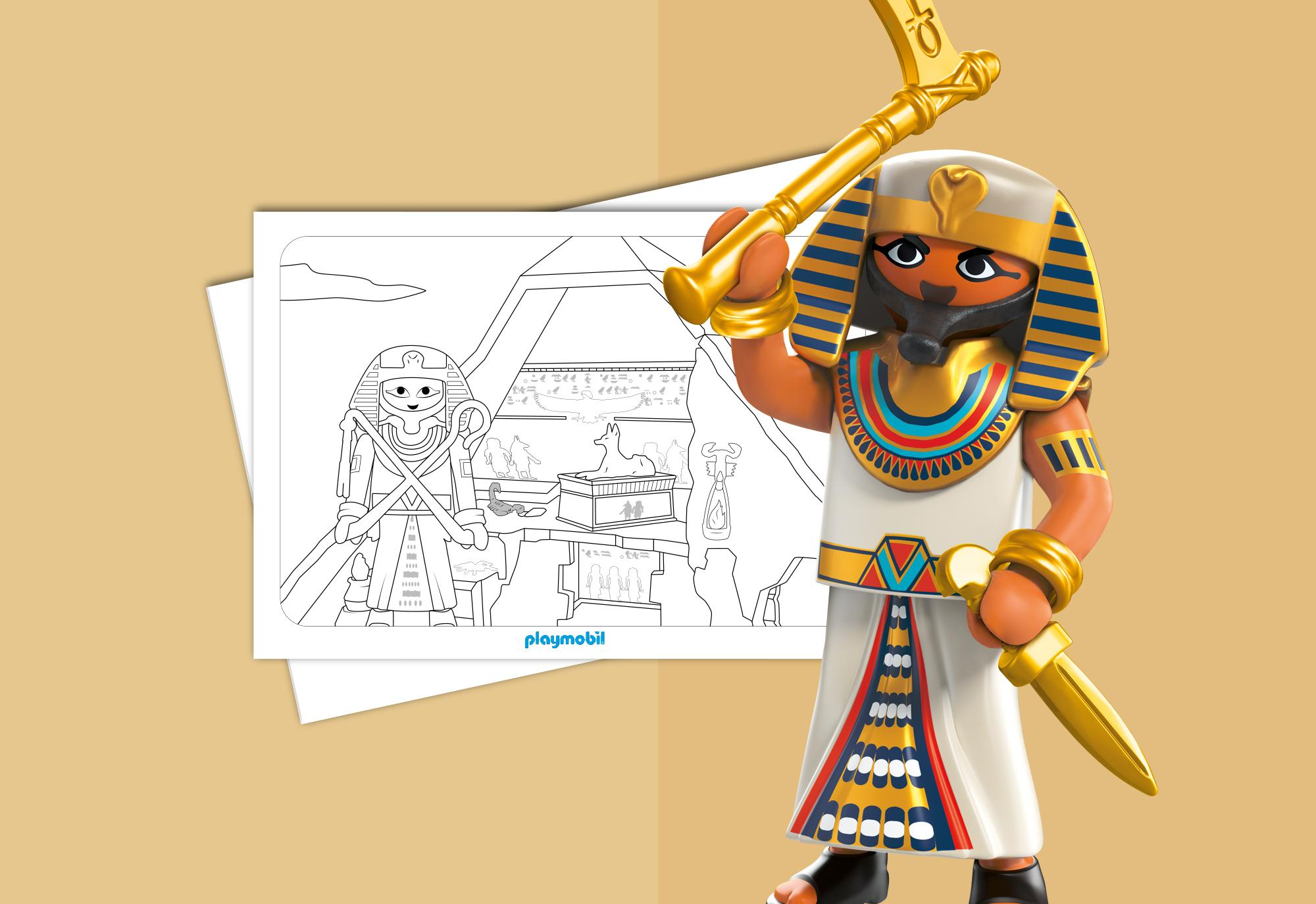 Kleurplaten Romeinen En Egyptenaren Playmobil 174 Nederland