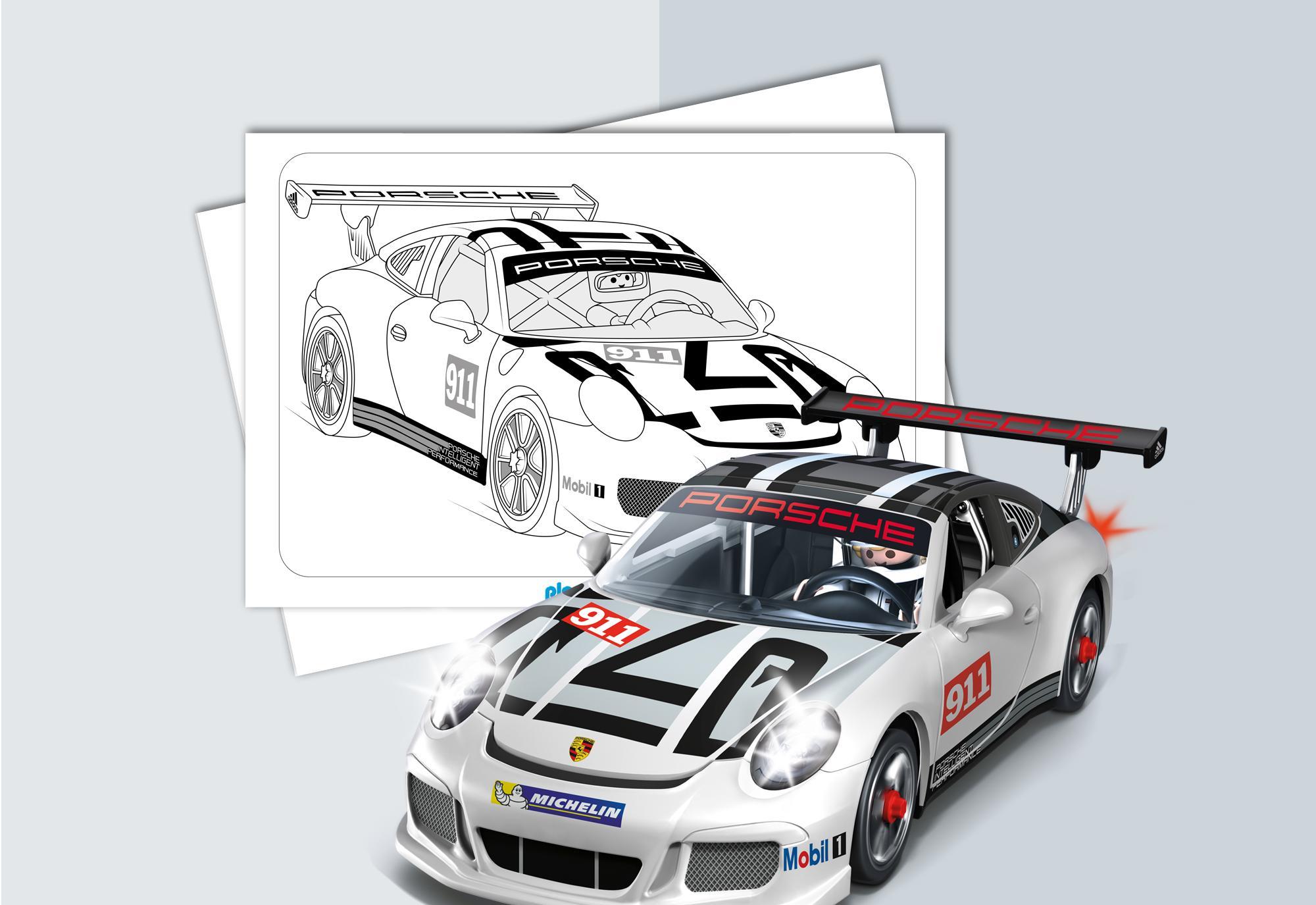 kleurplaten playmobil porsche 911 gt3 cup playmobil 174 belgi 235