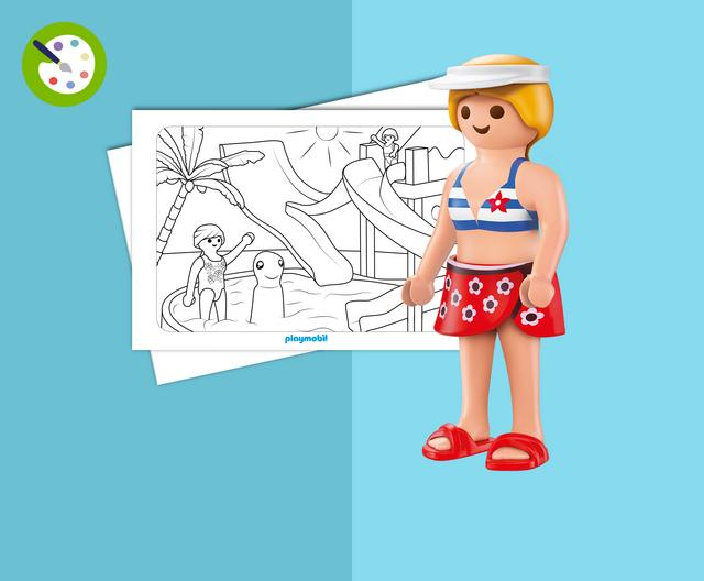 water park coloring pages - photo#41