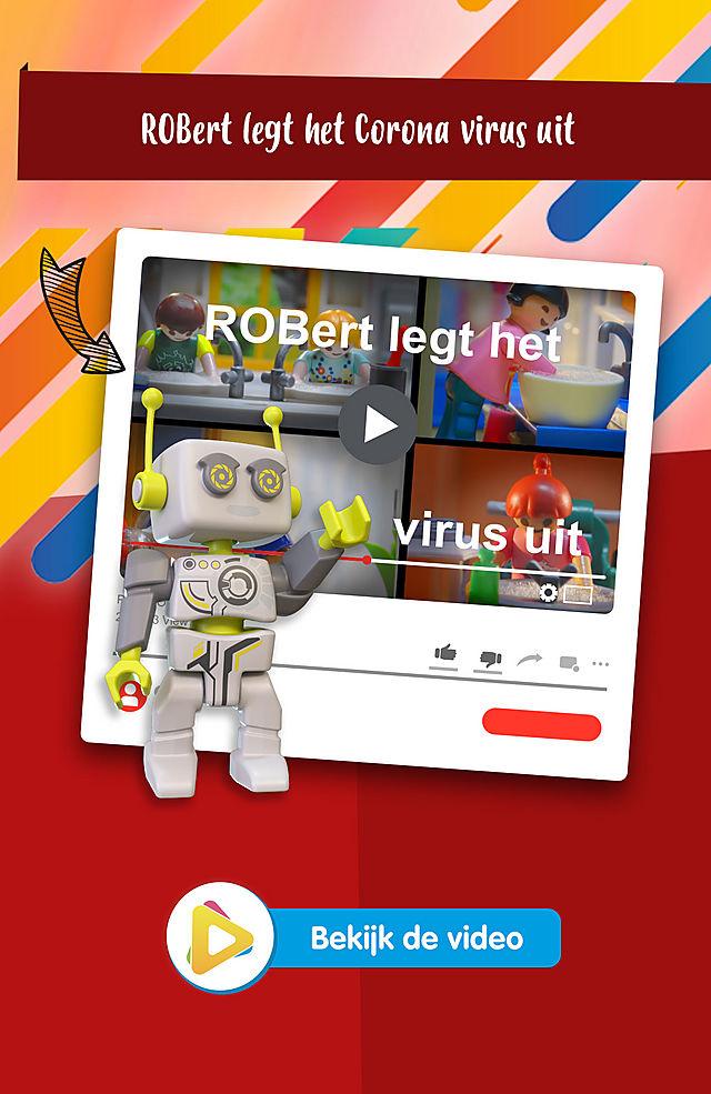 Robert legt het virus uit