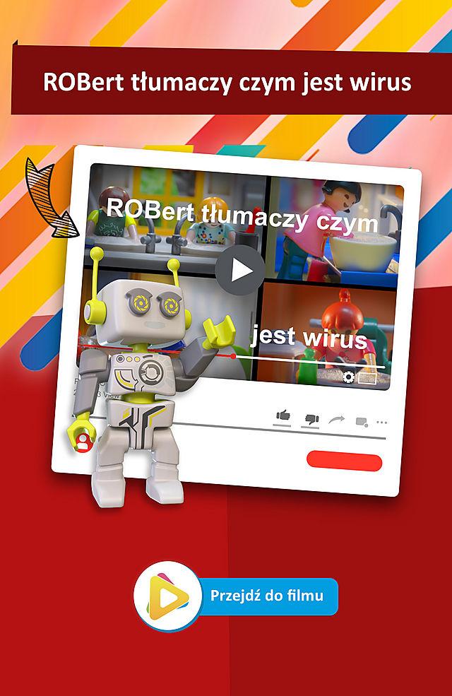 ROBert tłumaczy czym jest wirus
