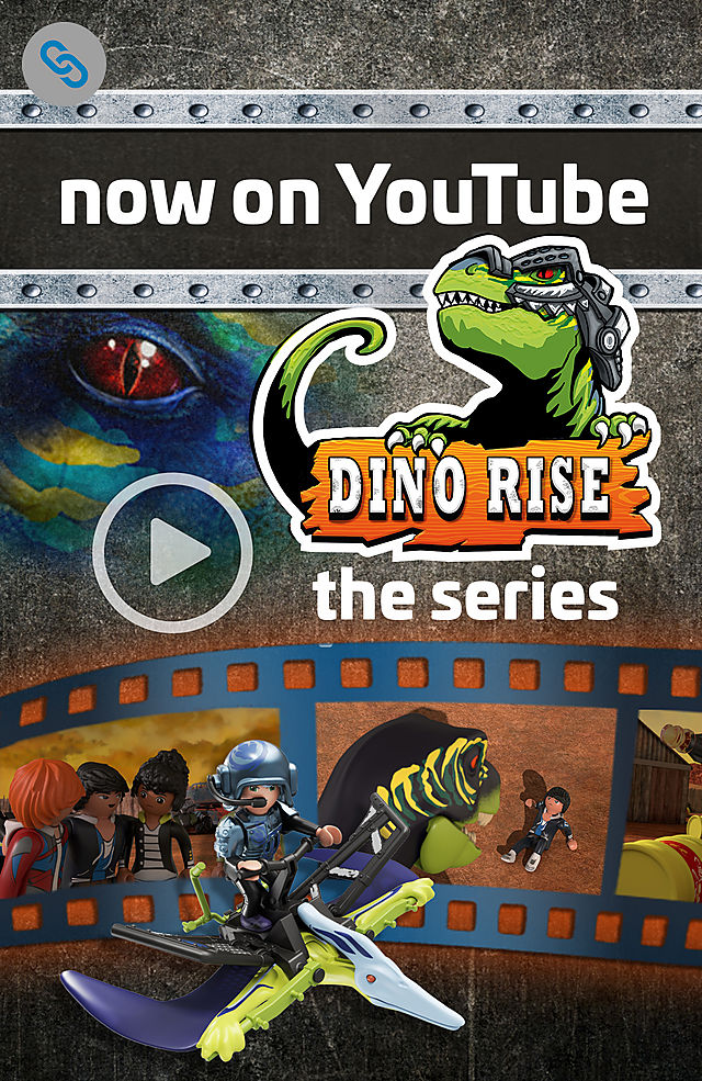 Link to Youtube PLAYMOBIL Dino Rise series