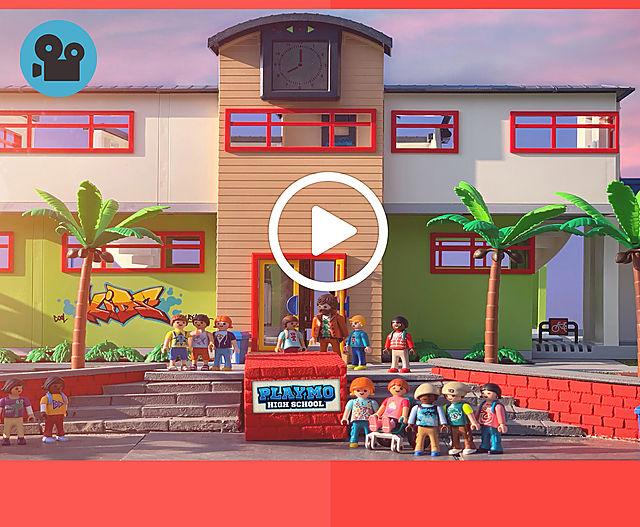 ausmalbild playmobil schule