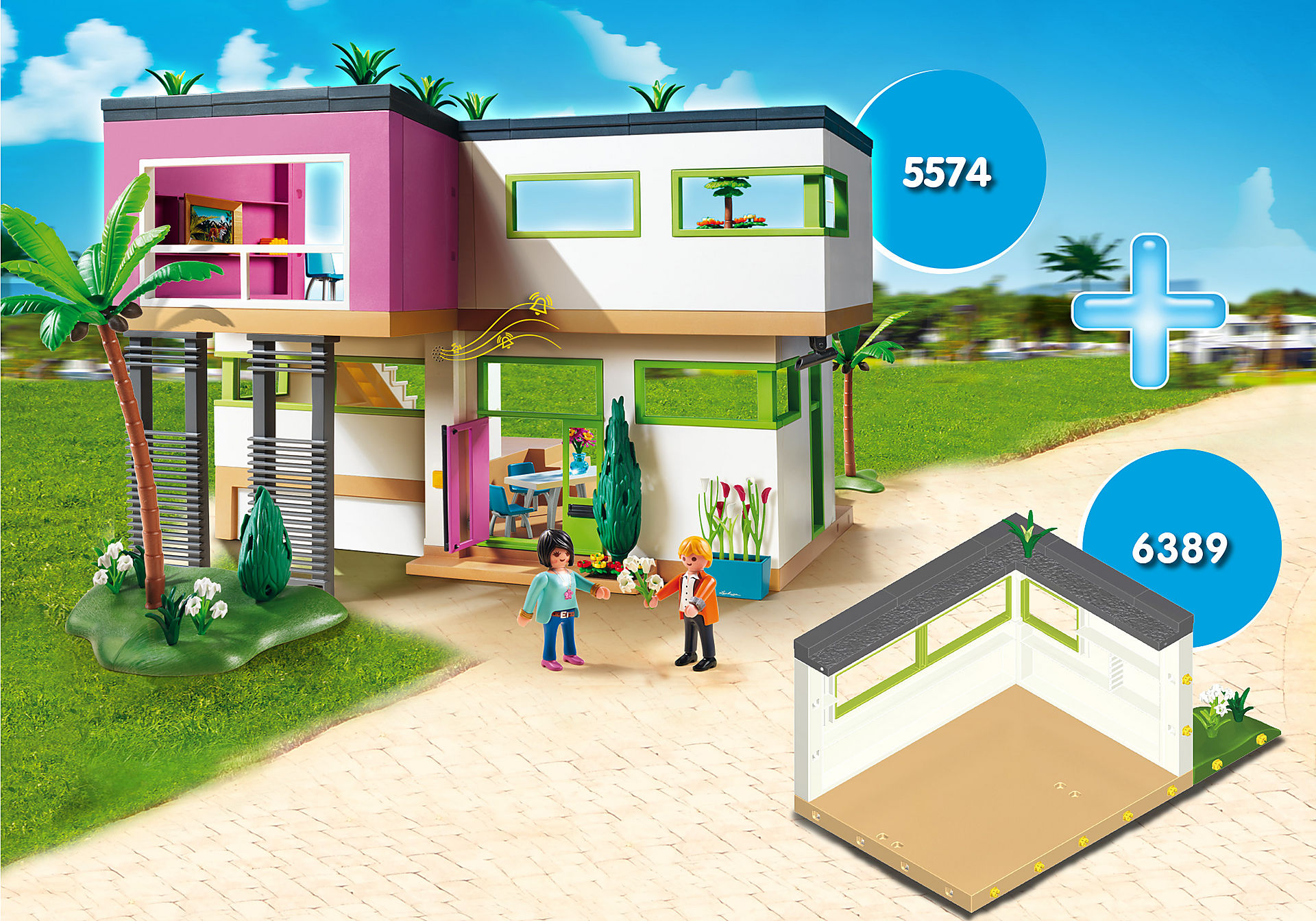 PM1905K Super Promo Bundle Lussuosa Villa arredata zoom image1
