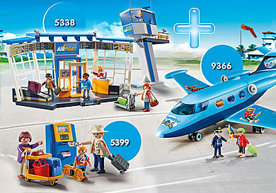 PM1907F Bundle Airport with Control Tower (DS exclusiv)