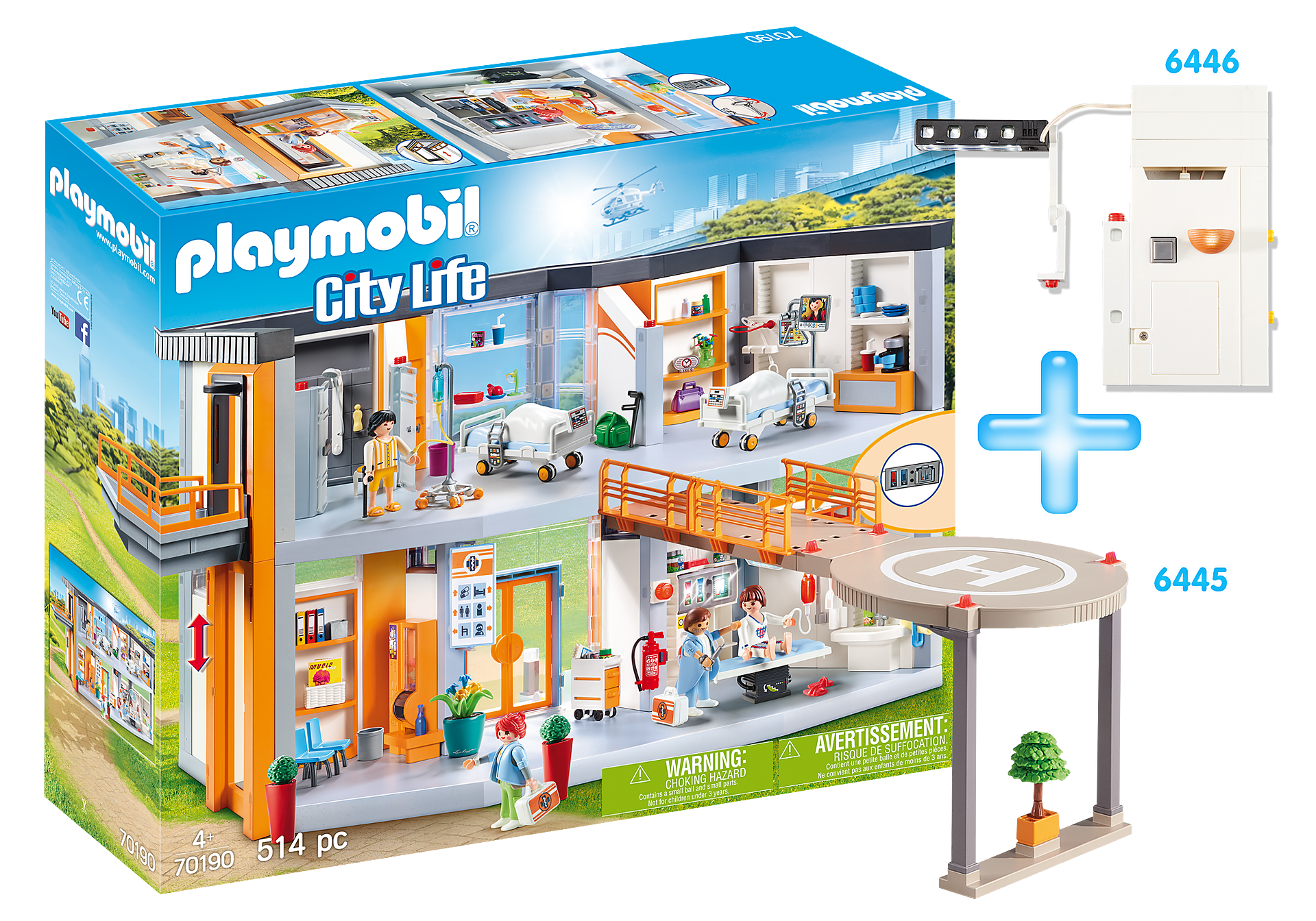 http://media.playmobil.com/i/playmobil/PM1908D_product_detail/Bundle Krankenhaus
