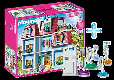 PM1908E_product_detail/70205 La maison traditionnelle + 6354 Kit d'éclairage
