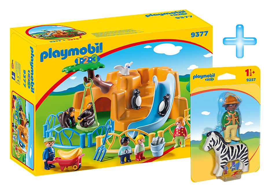 PM1909H Playmobil 1.2.3 Zoo Bundle detail image 1