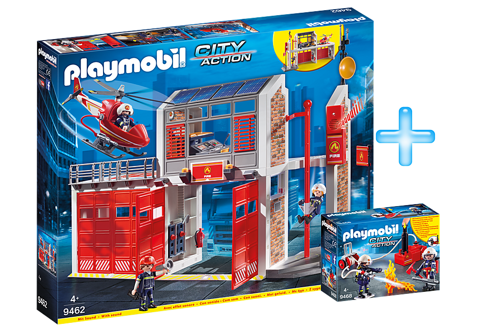 PM1909I Playmobil Fire Station Bundle detail image 1