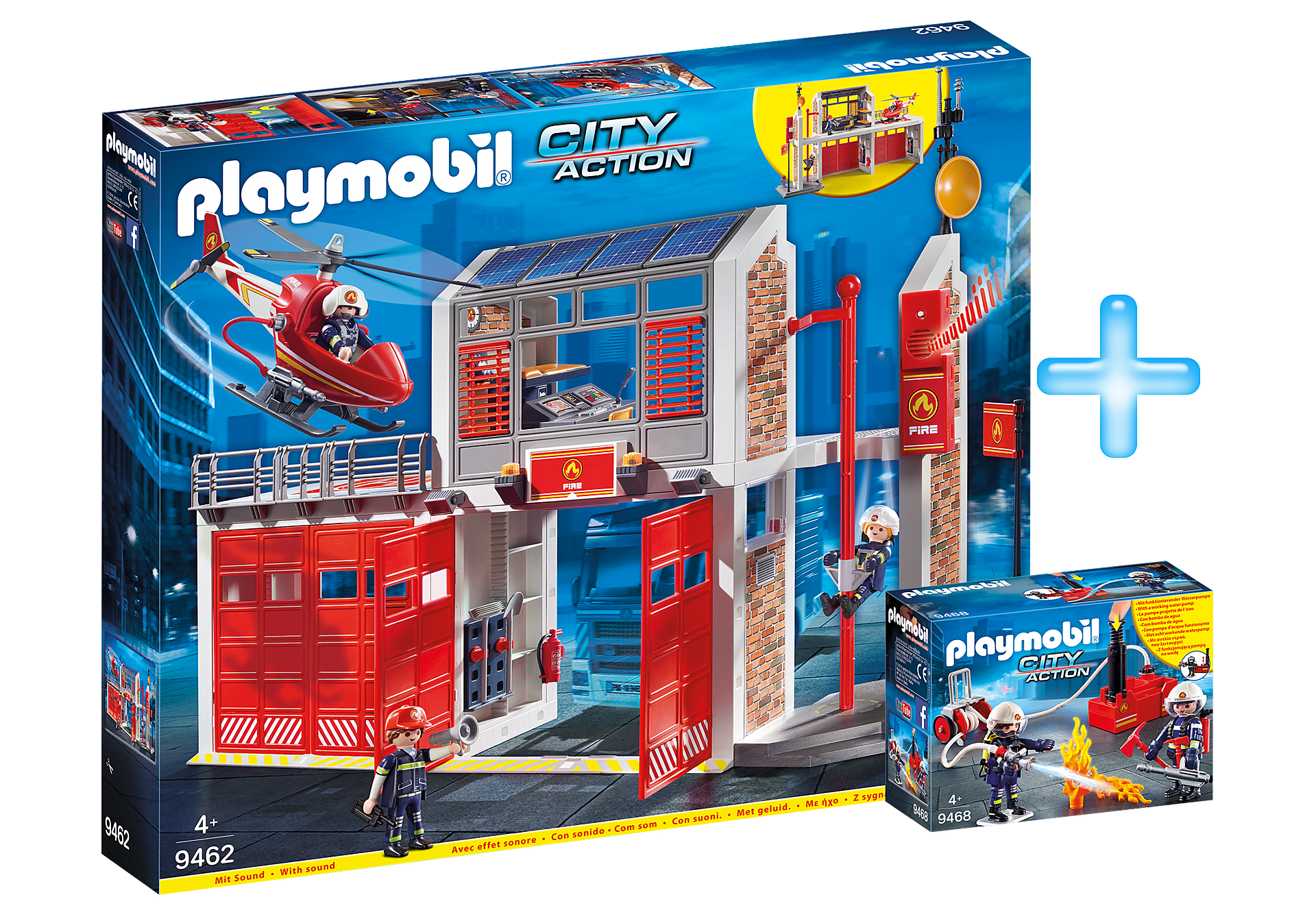 PM1909I Playmobil Fire Station Bundle zoom image1