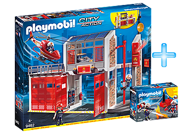PM1909I_product_detail/Playmobil Fire Station Bundle