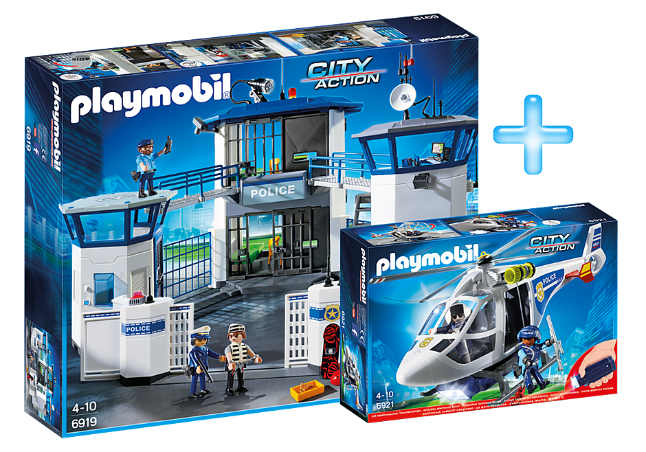 PM1909J Playmobil Police Headquarters Bundle detail image 1
