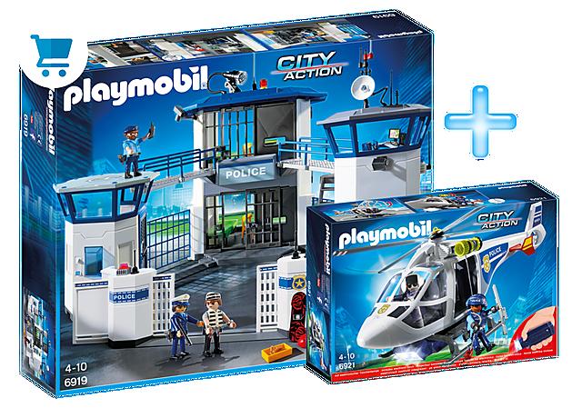 PM1909J_product_detail/Playmobil Police Headquarters Bundle
