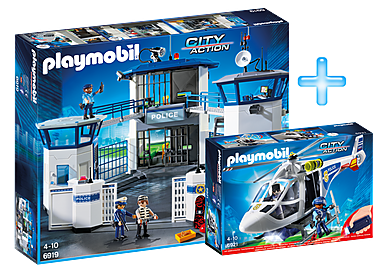 PM1909J_product_detail/Playmobil Police Headquarters Bundle